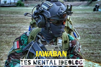 28 Jawaban Tes Mental Ideologi Wawancara Seleksi TNI-Polisi