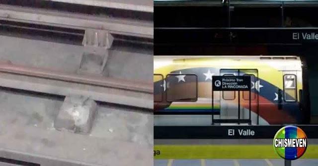 Trenes de la línea 1 del Metro podrían descarrilarse en cualquier momento por falta de mantenimiento