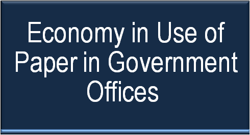 economy-in-use-of-paper-in-government-offices