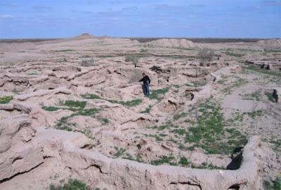 Những bí ẩn trong sa mạc Turkmenistan