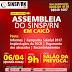 Assembleia em Caicó acontece nesta quinta (06)