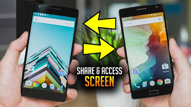 Here is How to Share Your Mobile Phone Screen with Anyone