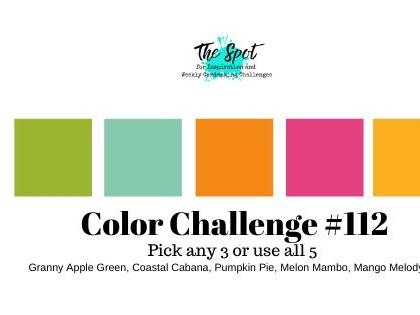 Color Inspiration Challenge #112