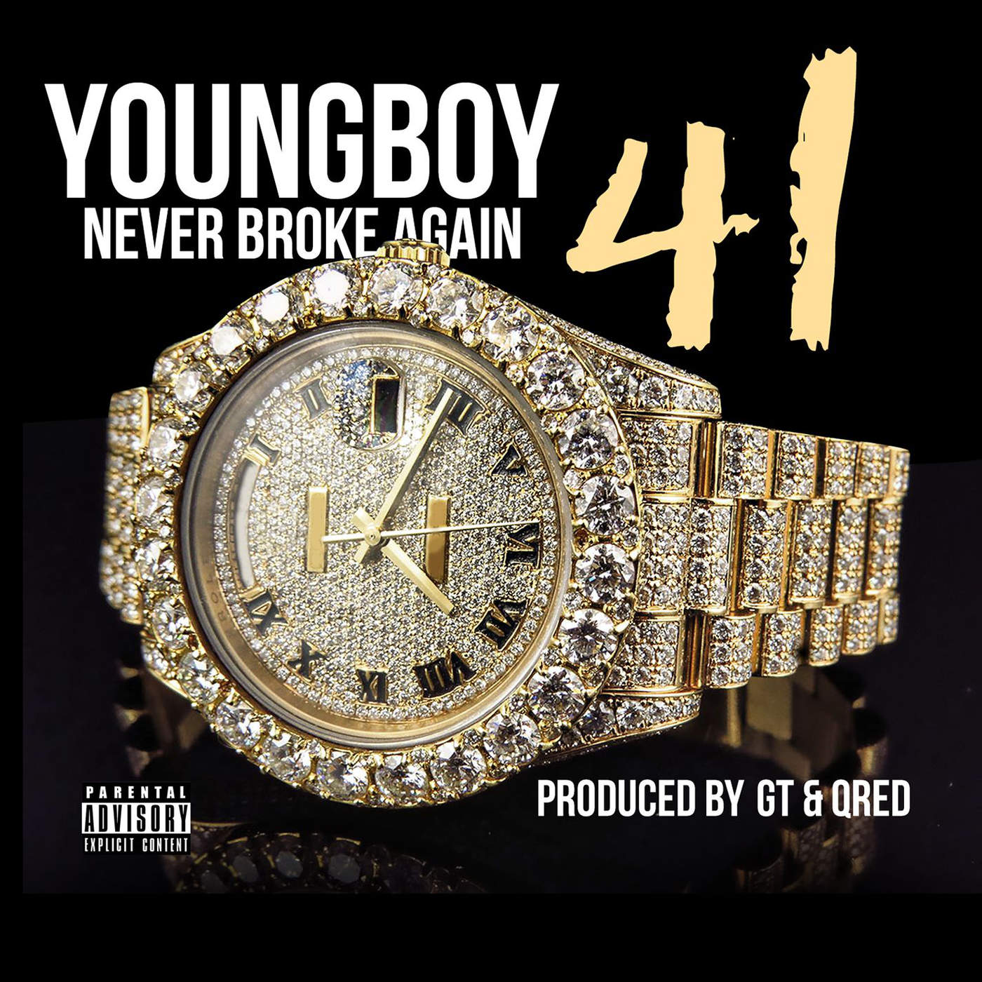 Youngboy Never Broke Again - 41 - Single Cover