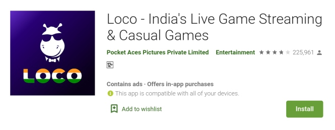 Loco - India's Live Game Streaming & Casual Games