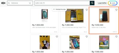 Redmi Note 10 Ram 4 Harga OLX