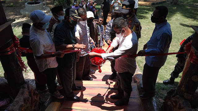 Ketua DPRD Lingga Resmikan Pembukaan Benan Island Resort