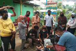 Adli Food, KWT Aru dan Menoken Merauke Lakukan Pelatihan Peningkatan Nilai Pangan Lokal