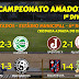 #FutebolDeCampola – Confira os resultados das Séries A e B do Amador de Campo Limpo