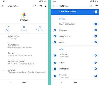 Pemberitahuan Android Q