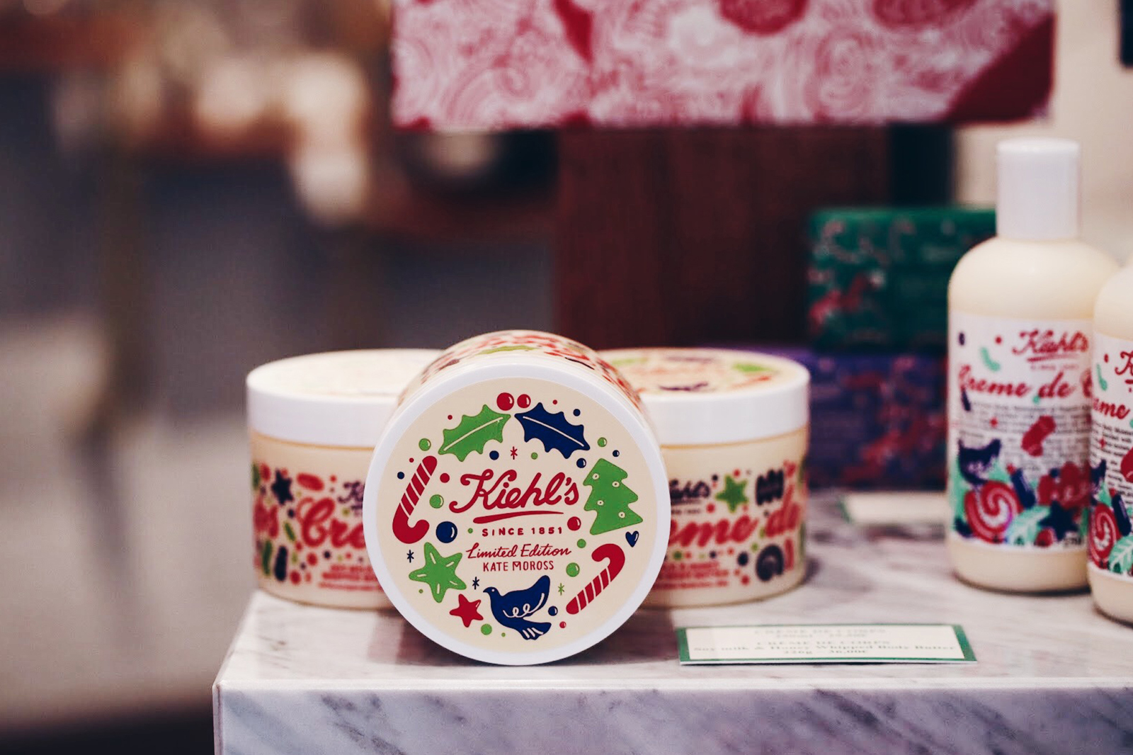 kiehls collection noel 2017 kate moross