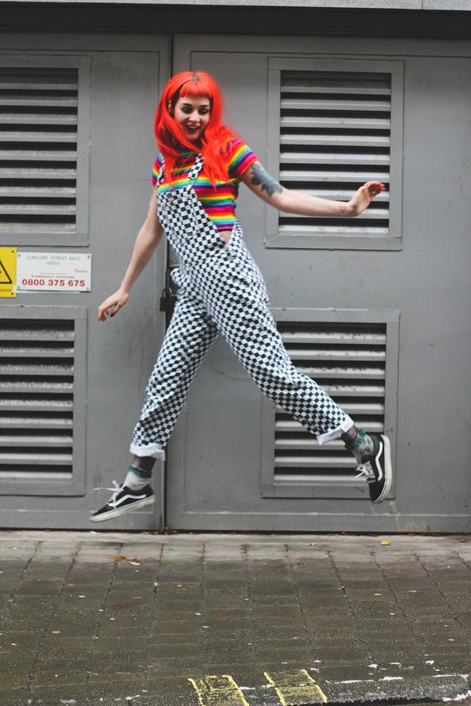 Alternative Fashion Blogger Foxxtailz in UNIF