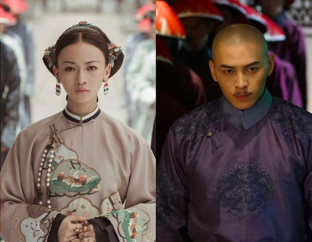 story of yanxi palace hong yao wu jinyan
