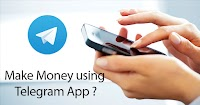 Do you know you can make money from telegram?