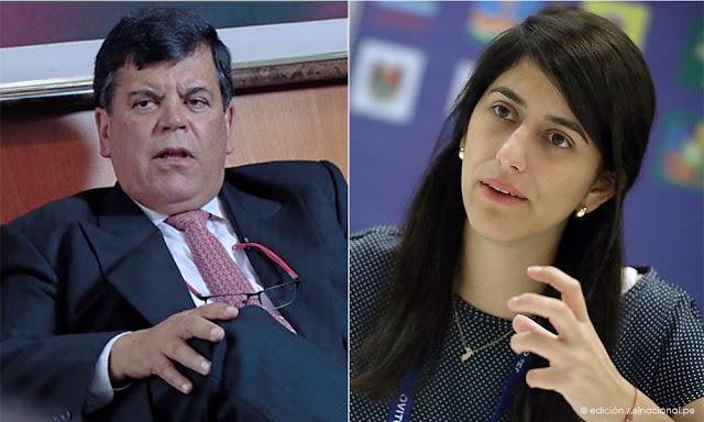 El audio en el que presiente de Petroperú insulta a ministra de Economía