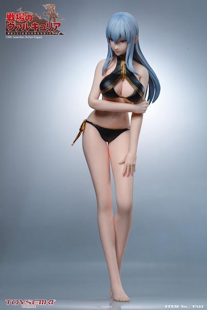 Selvaria Bles 1/6 Seamless Action Figure de Valkyria Chronicles, TOYSEIIKI.