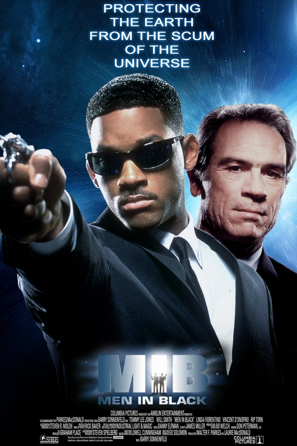 Nonton Film Men In Black (1997)