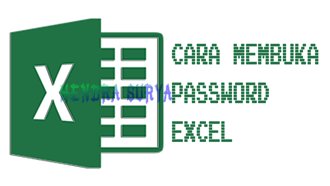 Cara Membuka Password Excel
