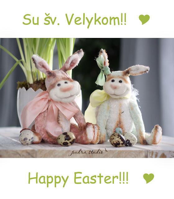 velykų zuikiai, easter bunny, rabbit