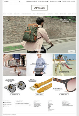 New men's accessories site Opumo launches