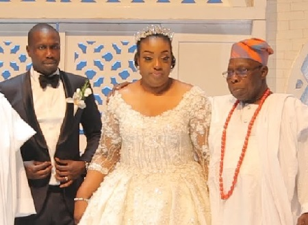 Obasanjo's Son Wedding Crashes