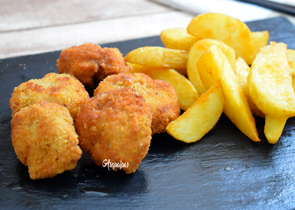 Nuggets de Pavo. Vídeo Receta