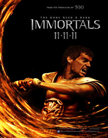 Immortals 2011 Hindi Dual Audio BRRip Full Movie Download