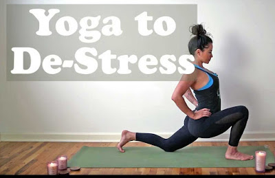 Destress with Yoga