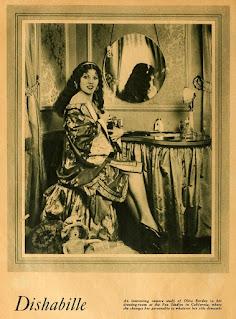 Olive Borden Dressing Room