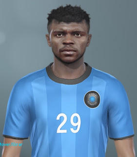 New classic faces for Pro Evolution Soccer  Update, PES 2019 Faces Nwankwo Kanu by MinchoSheen