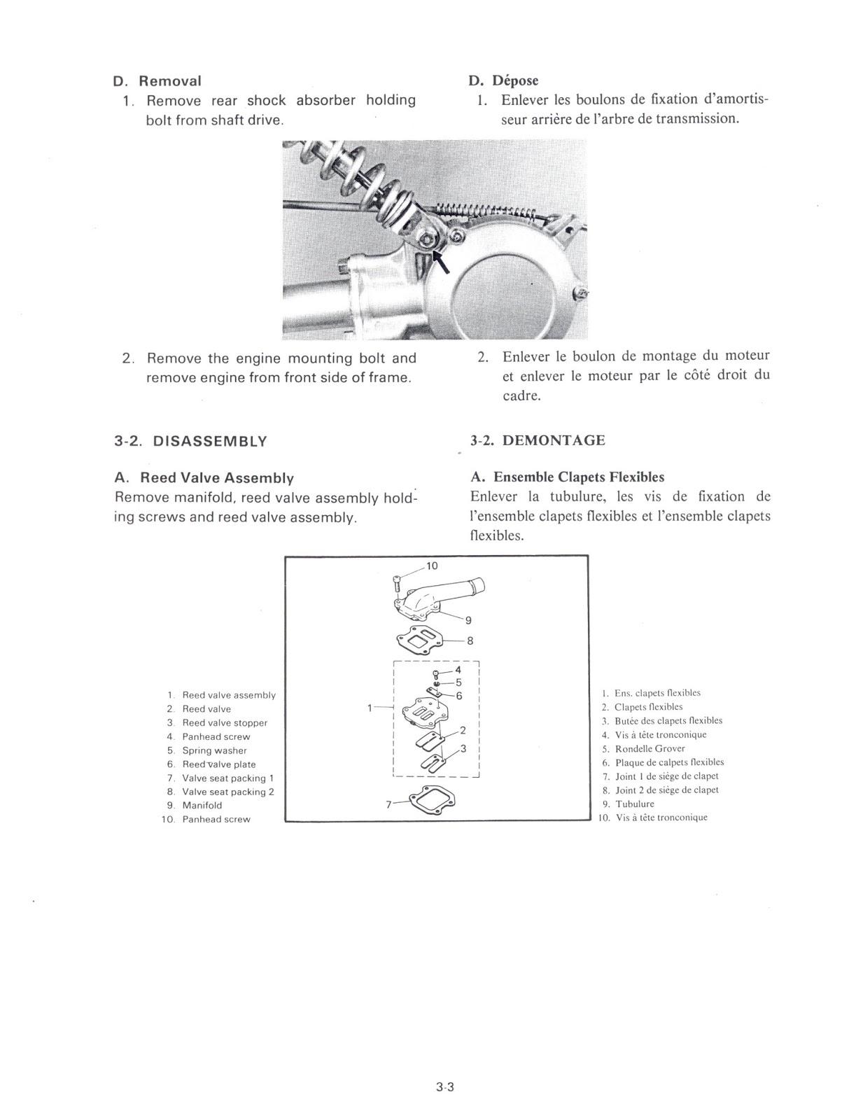 Restored Motorcycle Style Yamaha Qt 50 Service Manual