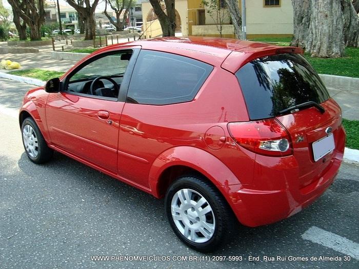 Ford Ka  Flex Vermelho