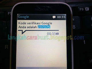 cara ganti nomor telepon gmail