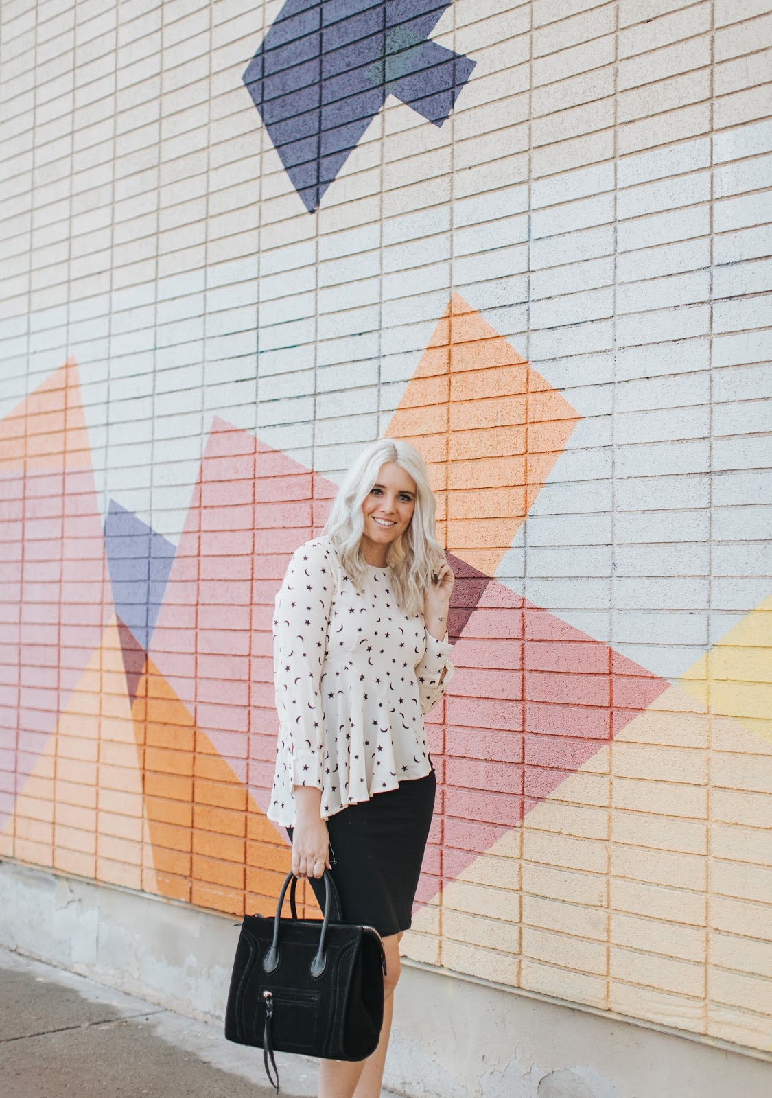 Baginc, Peplum Top, Utah Fashion Blogger