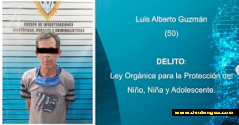 Miliciano Chavista capturado por abusar de un menor de edad con discapacidad