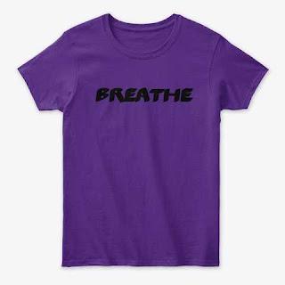 Breathe Women's Classic Tee Shirt Purple