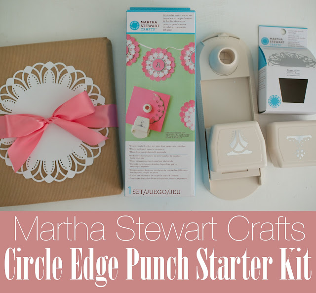 Martha Stewart Crafts Circle Edge Punch Starter Kit Review Available at Michael's