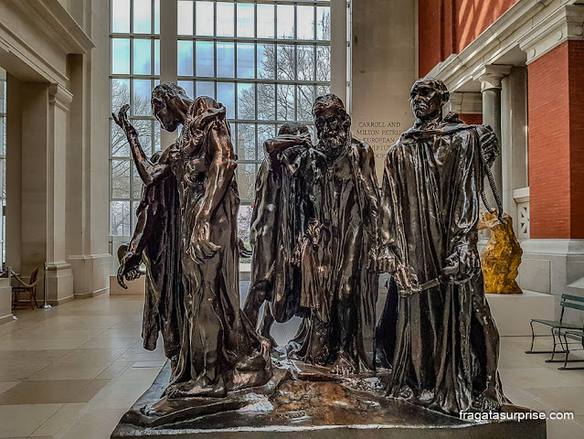 Esculturas no Metrapolitan Museum of Art, Nova York