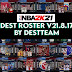 [LATEST UPDATE] NBA 2K21 DEST ROSTER V21.08.17 (August 17, 2021)  + 99  Teams WITH ALL NEW 2022 ROOKIES + FIBA + LATEST TRANSACTIONS AIO by destteam