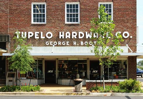 Elvis Tupelo Hardware Mississippi