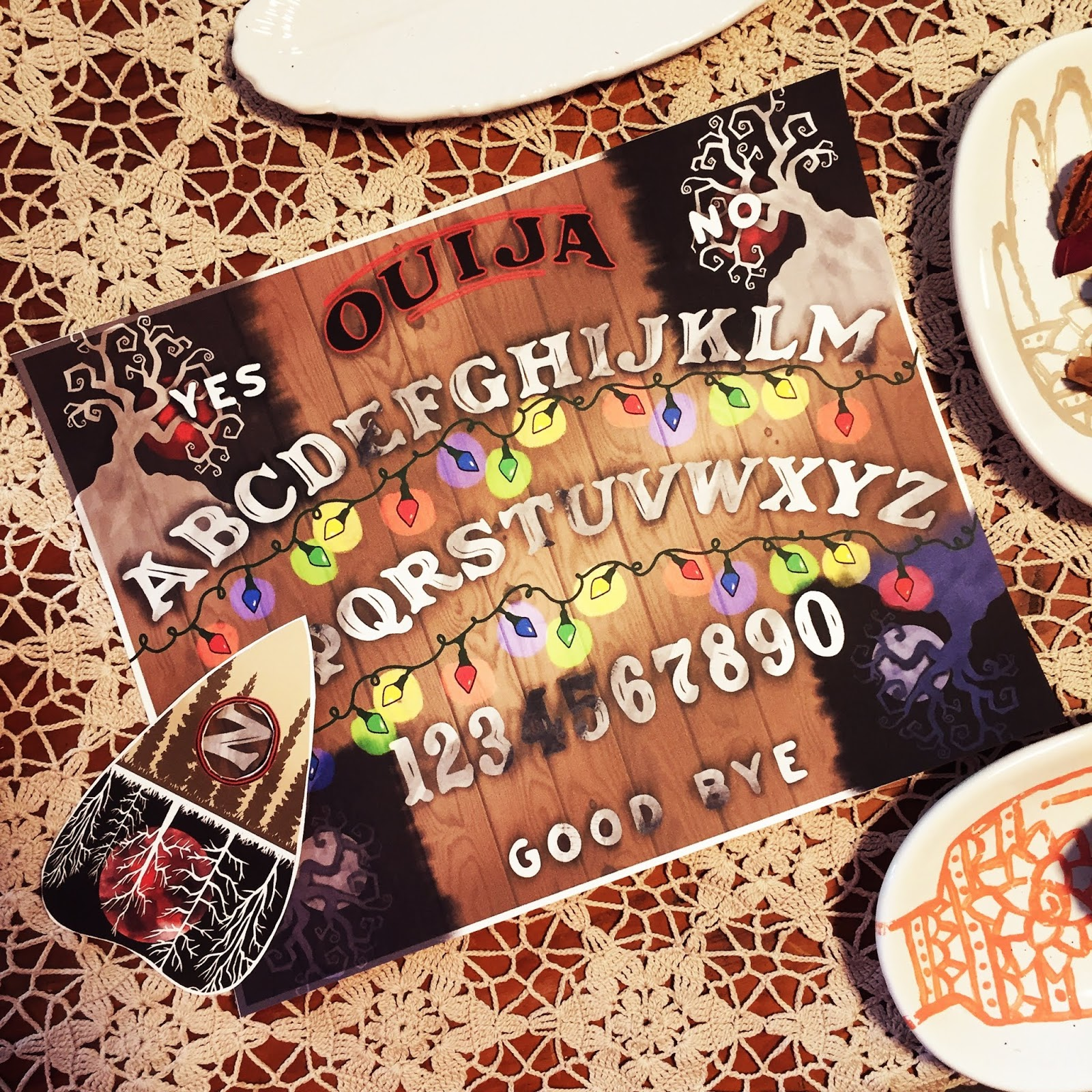 image regarding Printable Ouija Boards called Grimdol Affordable: Totally free Stranger Variables Printable Ouija Board and