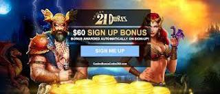 21 dukes casino login