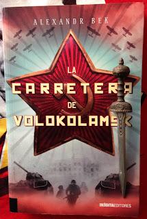 Portada del libro La carretera de Volokolamsk, de Alexander Bek