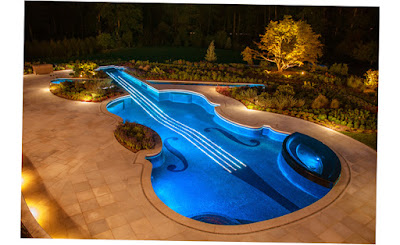 Cipriano Landscape Design Custom Swimming Pools Blue Light Best Pic 2016