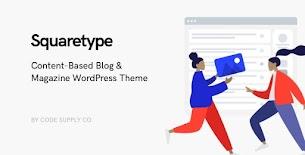 Squaretype - Tema moderno do blog WordPress