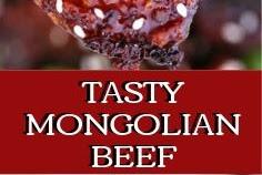 TASTY MONGOLIAN BEEF