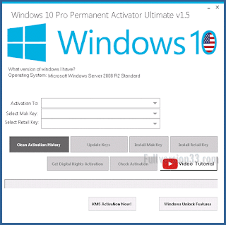 Windows 10 Pro Permanent Activator Ultimate 1.5