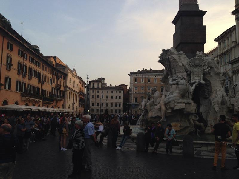 Roteiro um dia em Roma