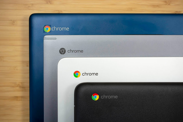 Chrome OS yüklü Chromebook'lar