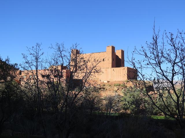 Kasbah en el Valle del Dadés